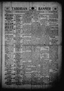 Taborian Banner (Galveston, Tex.), Vol. 2, No. 11, Ed. 1 Friday, August 24, 1906 Taborian Banner