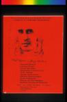 Canto A Centro America, Announcement Poster for