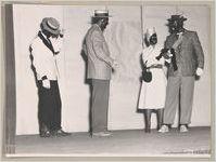 Photograph of a minstrel show, Clarkesville, Habersham County, Georgia, 1953