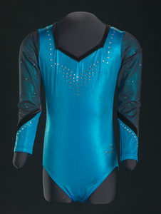 Leotard worn by Gabby Douglas during her first competitive season