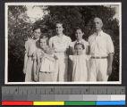 Nasmith family, China, ca.1941-1942