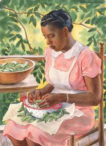 Laura Shelling Butter Beans