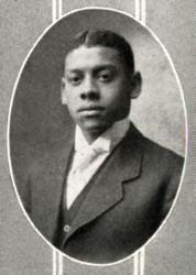 Cornelius Henderson, senior yearbook portrait, 1911 (second African American U-M Engineering Graduate)