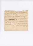 Account of slave capture by John Trott and Philip Hubbard for John Underwood of Kittery, 1777