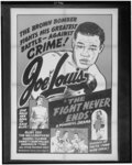Joe Louis in The Fight Never Ends
