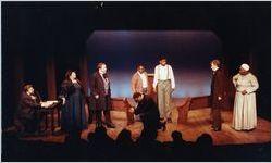"""Scene from Beverly Trader's """"Zion!,"""" Theatre in the Square, Marietta, Georgia, April 29, 1990"""