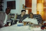 Katherine Dunham with Eugene Redmond and Nancy Belk