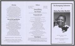 The homegoing celebration for Shirley Ann Littles Woolfolk, Saturday, January 5, 2008, 11:00 a.m., Beulah Grove Baptist Church, Augusta, Ga, Dr. Sam Davis, pastor
