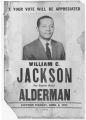 William C. Jackson campaign poster