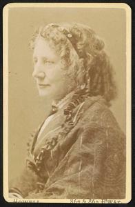 [Author and abolitionist Harriet Beecher Stowe]