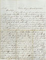 1863-03-24 letter from Jacob HasBrouck to Rowena HasBrouck