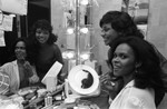 Backstage with Dream Girls cast, Los Angeles, 1983