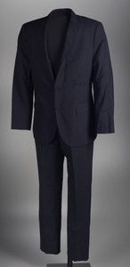 Suit worn by Dr. Jamal Harrison Bryant to a protest in Ferguson, Missouri