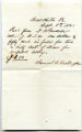 Supply Receipt 09-08-1863 Darlington
