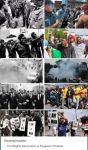 Civil Rights Movement vs. Ferguson Protests