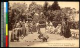 Outdoor bowling, Nagasaki, Japan, ca.1920-1940