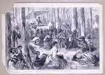 A Negro camp-meeting in the South