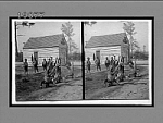 An athletic family--jovial negro life in the Sunny South, Mississippi. [Active no. 5744 : stereo interpositive.]