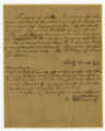 Slave deed from Timothy [Terrell?], to William Harrison, Jr., Williamson County, Tennessee, 1844 January 18