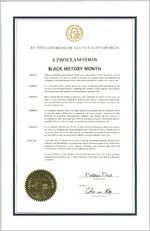 By the Governor of the State of Georgia, a proclamation, 2017 February 1 By the Governor of the State of Georgia, a proclamation: Black History Month