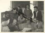 Katherine Dunham and John Pratt with colleagues