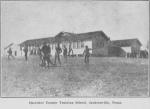 Cherokee County training school, Jacksonville, Texas
