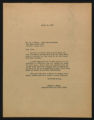 Documents regarding the daily administration and operation of Fort Macon State Park, 1952