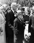 Mary Pickford at Tyrone Power funeral