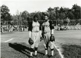 "Mohawk Giants players Art ""Duck Soup"" Milton and Elmore ""Scrappy Brown"""