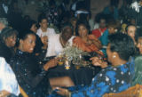 Esther Rolle and Ruby Dee talking together