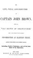 "The life, trial and execution of Captain John Brown: known as ""old Brown of Ossawatomie,"" with a full account of the attempted insurrrection at Harper's Ferry"