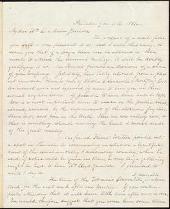 Letter from Lucretia Mott, Philad[elphi]a, [Pa.], to William Lloyd Garrison and Helen Eliza Garrison, [September] 11th. 1851