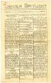 Lincoln Spotlight, Volume III, Number II, Lincoln High School, Esko, Minnesota