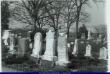 Oakwood Cemetery William Sarah Harmon Allison Tombstones 1990