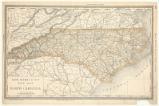 Rand, McNally & Co.'s New map of North Carolina New map of North Carolina;Business atlas map of North Carolina