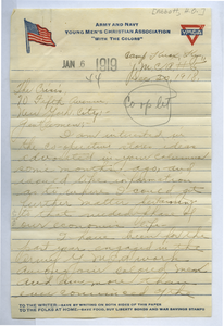 Letter from H. O. Abbatt to the Crisis