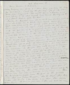 Letter from Anne Warren Weston, 39 Summer St., [Boston], to Caroline Weston and Deborah Weston, Sunday, February 10, [1841?]