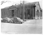 Hough Branch 1942: Carnegie building exterior