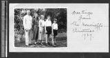 Missionary family photo, Chengdu, Sichuan, China, 1939