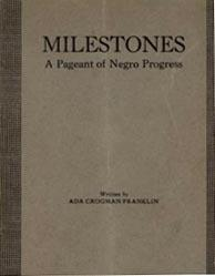 """""""Milestones"""" Script Cover"""
