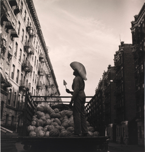 Watermelon Seller, from the project The Most Crowded Block