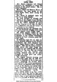 """""""Iowa City: Mrs. Mattie Dameron left Friday afternoon for Muscatine,"""" February 20, 1920"""