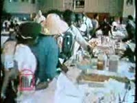 WSB-TV newsfilm clip of African Americans celebrating and demonstrating as they prepare for the Poor People's March on Washington, 1968
