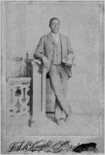 African-American male, circa 1900-1920