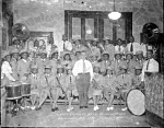 Grace Concert Band, House of Prayer [acetate film photonegative], 1947