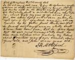 Affidavit Confirming that Nelly Scott and her Children, Robert, Samuel, and John, Were Freeborn, October 1822