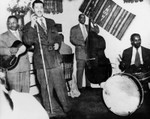 Herb Jeffries performs with trio
