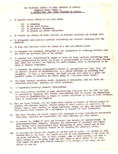 Charter for the Negro Churches of America