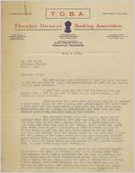 Letter: Nashville, Tennessee to Ben Stein, Macon, Georgia, 1928 Feb. 4