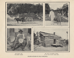 """[Pictures of """"Old Negroes"""" in Virginia from a 1907 Jamestown Exhibition Official Booklet : booklet,] 1907"""